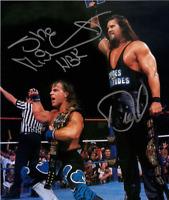 Kevin Nash Diesel & Shawn Michaels Autograph Pre Print Wrestling Photo 8x6 Inch