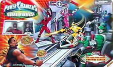POWER RANGERS TIME FORCE CONTROL CENTER  Ramsik and Quantum Power Rangers