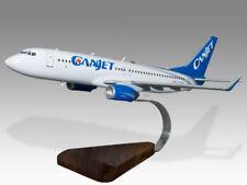 Boeing 737-800 Canjet Version 2 Solid Wood Handcrafted Airplane Desktop Model