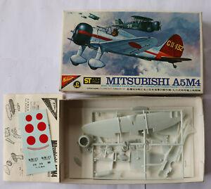model aircraft kits 1/72 Nichimo Mitsubishi A5M4