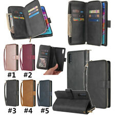 PU Leather Magnetic Flip Wallet Card Phone Case For Samsung A71 5G A20/A30 A10S