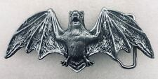 Vampire Bat Belt Buckle Biker Metal Evil Gothic Pagan Mens Ladies UK Seller
