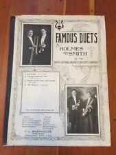 Saxophone DUET Holmes & Smith Antique The Wayfarer OSKALOOSA IOWA RARE