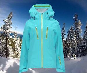 Spyder Womens XS Eiger Waterproof Ski Snowboarding Technical Shell Jacket $500