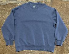 D.A.C. Athletic Club Pullover Crewneck Sweater Blue Sz XLarge