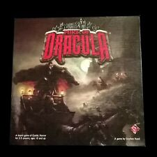 Fury of Dracula 2nd Edition Unpunched Fantasy Flight Out of Print