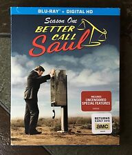 Better Call Saul Season One 1 DVD Blue Ray HD Watched Once! AMC Television