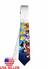 Dragon Ball Goku Anime Manga Necktie Neck Tie Men Halloween Tie Cosplay Anime