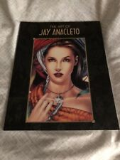 The Art of Jay Anacleto May 2002 1st Edition Image Comics TPB 1st Print NM+