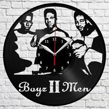 "Boyz II Men Vinyl Record Wall Clock Home Fan Art Decor 12"" 30cm 4276"