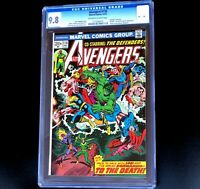 AVENGERS #118 🔥 CGC 9.8 - 1 OF ONLY 18!🔥 Defenders Crossover! 1973