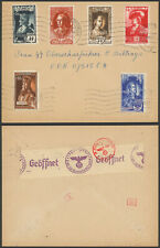 Germany WWII 1943 - Field Post Cover - Censor