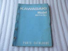 Kawasaki F5 350 F5-A Parts Catalogue # 7101