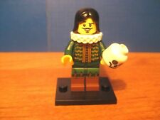 Lego Collectible Minifigure Series 8 Shakespeare Thespian Actor Mini Figure 8833
