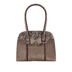 Ruby Shoo Women's Mink Kobe Large Top Handle Bag (Matches Thalia Joanne) Handbag