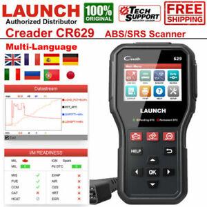 LAUNCH CR629 Auto OBD2 ABS SRS Diagnostique Bidirectionnel Scanner Voiture Lecte