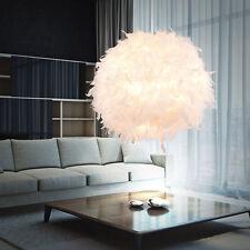 Design Feder Pendel Lampe Ess Zimmer Decken Hänge Beleuchtung Kugel Leuchte weiß