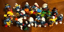 Mixed Lot Of Vintage Smurf Figures 1978-1983, 1991