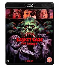 BASKET CASE The Trilogy BOX 3 BLURAY in Inglese NEW .cp