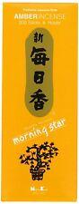 Japanese Morning Star Amber Incense 200 Sticks NK-179 S-1672