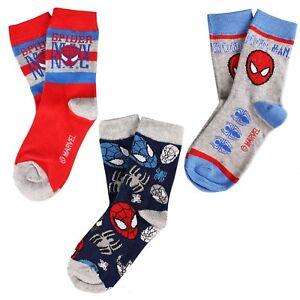 Marvel Boys - Spiderman - Sock Pack - Multi