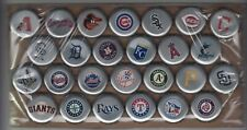 26 diff COORS LIGHT baseball dented beer bottle crown caps from Canada MLB