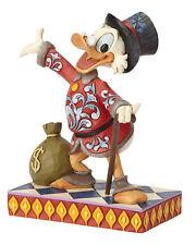 Jim Shore Disney -  Treasure Seeking Tycoon (Dagobert Duck) - 6001285