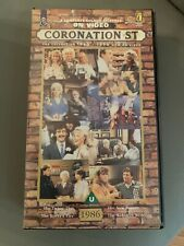 Coronation Street..1986 Episodes...VHS Video