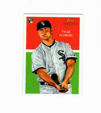 2010 Topps National Chicle Umbrella Tyler Flowers Parallel RC #'d 6/25 RARE!