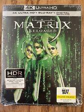 Brand New The Matrix Reloaded Steelbook Edition (4K Uhd + Blu-ray + *Digital) B6