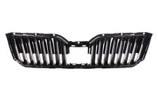 Skoda Superb 2015 2016 2017 Front Grille Painted Black With Active Cruise Contro
