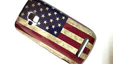 NOKIA LUMIA 610 CUSTODIA COVER BANDIERA FLAG USA VINTAGE case bumper UNITED STAT