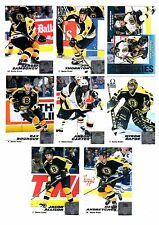 1X BOSTON BRUINS 1999-2000 Pacific Omega FULL TEAM SET Lots Available 99-00
