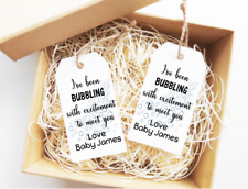 15x Wine Tags Baby Shower Labels Wedding Birthday Tags Fizzy Drink Tags
