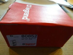 2 GANG 2 X 1 LEGRAND SURFACE ELECTRICAL BACKBOX 5 OF