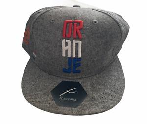 Netherlands Football Men's Hat Fanatics Flag Colours Hat - Grey - New