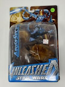 Aayla Secura - Star Wars Unleashed action figure - 2004 Hasbro - New (420)