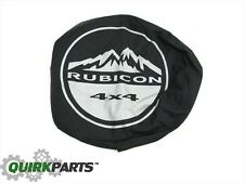 1997-2018 Jeep Wrangler JK Rear Tire Cover Rubicon Logo OEM NEW MOPAR