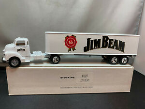 Ertl Jim Beam Chevy Chevrolet Cab Tractor Truck w Trailer 1/64 Diecast Coin Bank