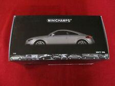 MINICHAMPS® 100 015020 1:18 Audi TT 2006 silverblue metallic NEU OVP