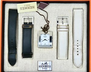 HERMES Belt watch BE1.210 watch 800000085745000 with Original Box and Papers