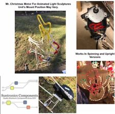 (P13)Mr. Christmas  Animated Light Sculptures replacement part motor no casing .