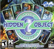 MYSTERY TALES HANGMAN RETURNS + TWILIGHT WORLD Hidden Object 7 PACK PC Game NEW