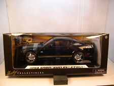 BLACK 2012 FORD SHELBY GT350 SHELBY 1:18 SCALE DIECAST METAL MODEL CAR