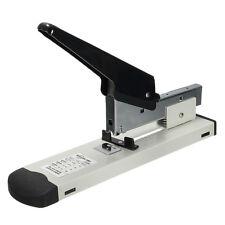 Heavy Type Metal Stapler Bookbinding Stapling 120 Sheet Capacity Office Tools CX