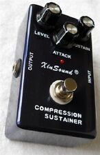 XIN SOUND COMPRESSOR SUSTAINER PUNCHY ATTACK QUALITY BUILD TRUE BYPASS NEW/NICE