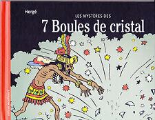 Livre les Mystères des 7 Boules de Cristal Éditions Moulinsart