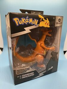 """Pokemon Select 6"""" Inch Battle Charizard Articulated Jazwares Figure IN HAND"""
