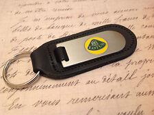 Lotus porte-clés gravé et anastomosés sur cuir elise evora exige elan