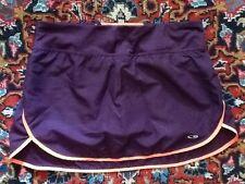 C9 by Champion Purple Orange Tennis Running Skirt Skort w/Attached Shorts XS EUC